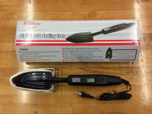 Aviation Art Digital LCD Sealing Iron