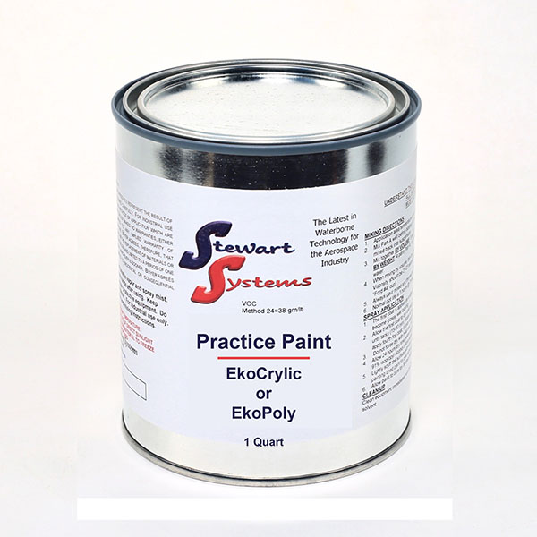 EkoCrylic & EkoPoly - Practice Paint Quart