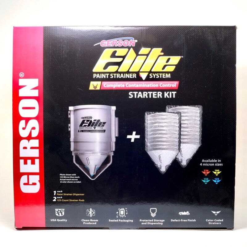 Gerson Elite Dispenser Starter Kit Box Top