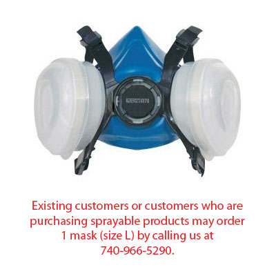 Gerson Half-Mask Respirator - Call us to purchase