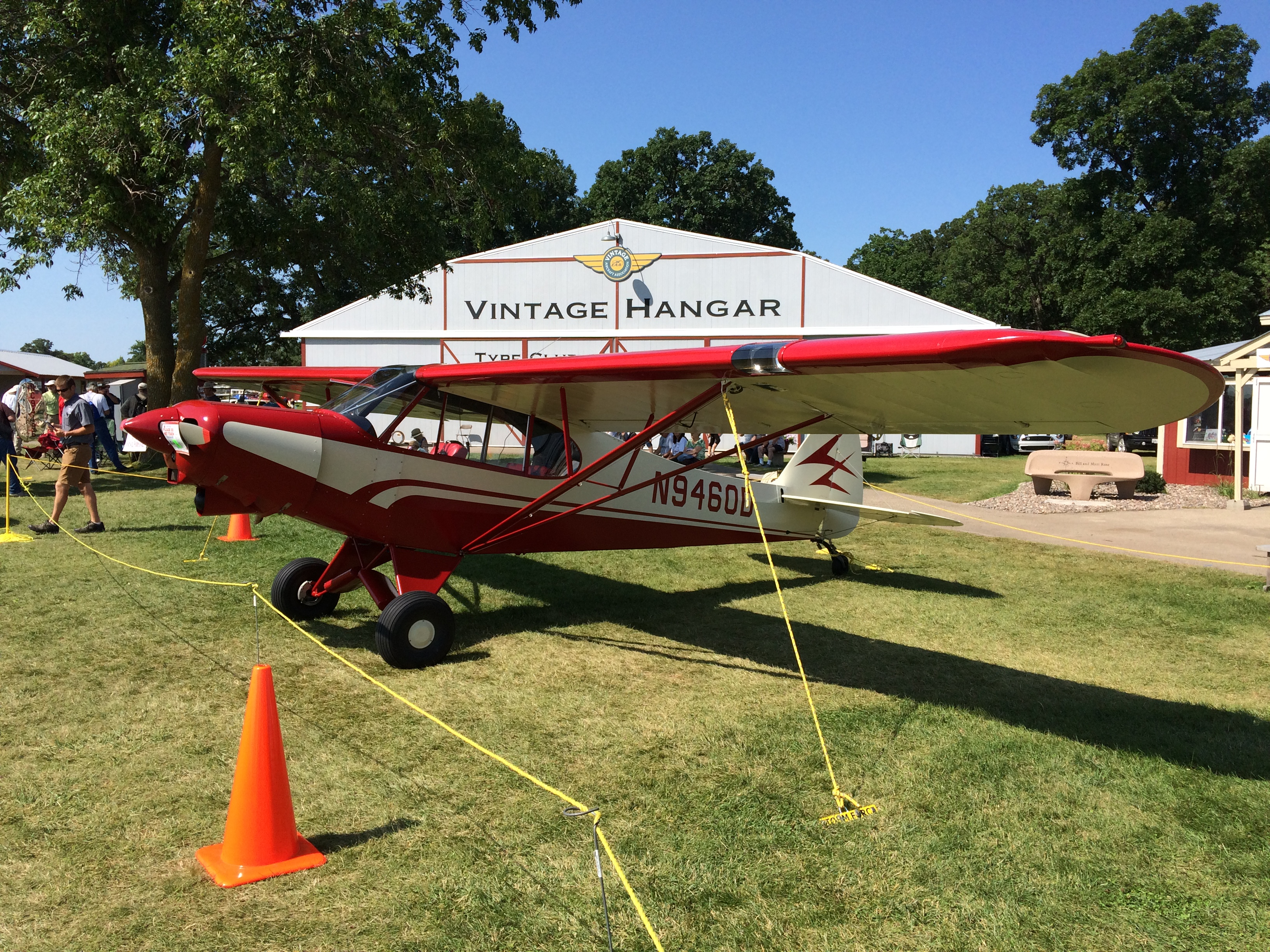 1959 Super Cub by Mart Clupper - Oshkosh 2018 Best Contemporary, Bronze Lindy