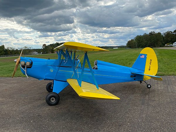 Jonathan Walters Biplane