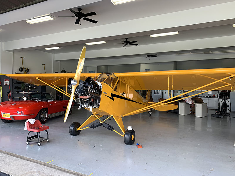 Piper J3 Cub by Matt & Rich Kropp