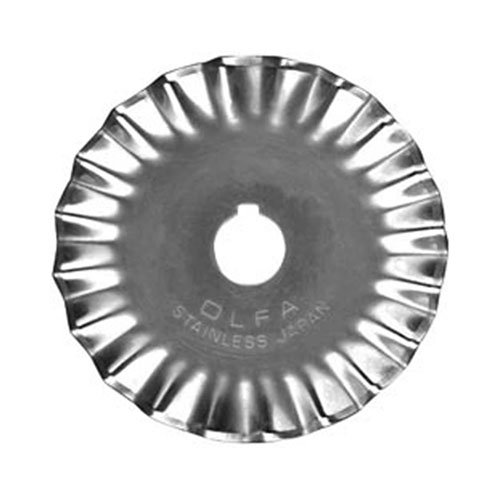 Olfa 45mm Stainless Steel Pinking Blade