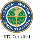 STC Certified (Supplemental Type Certificate)