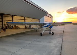 Taylorcraft BC12D restored by Mark Williams