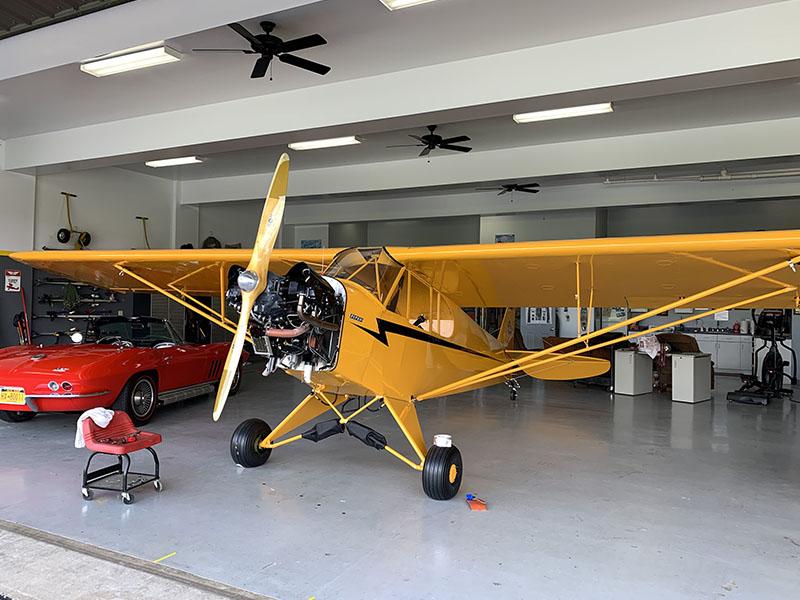 Stewart Systems Fabric Aircraft Finishing